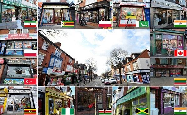 英国最多元化街道