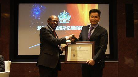 世貿通獨家承辦聖基茨總理香港見面會