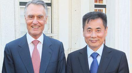葡萄牙总统会见世贸通集团董事长Winner Xing博士