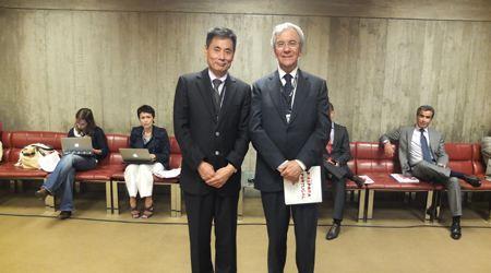 葡萄牙驻澳门前总督会见世贸通集团总裁