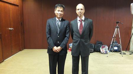 葡萄牙总统经济顾问会晤世贸通集团董事长Winner Xing博士