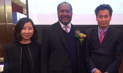 世贸通董事长Winner Xing博士会见瓦努阿图总理