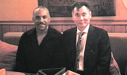 圣卢西亚投资入籍局局长会见世贸通龙8娱乐官网手机版集团董事长
