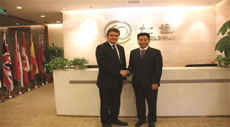 美国国会议员Mike Fitzpatrick先生访问世贸通京沪公司